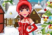 Winter Makeover For Miss Santa