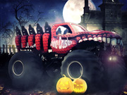 New Monster Truck Halloween Hunt